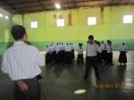 Wakasek Kesiswaan memberikan pengarahan kepada peserta LDKS